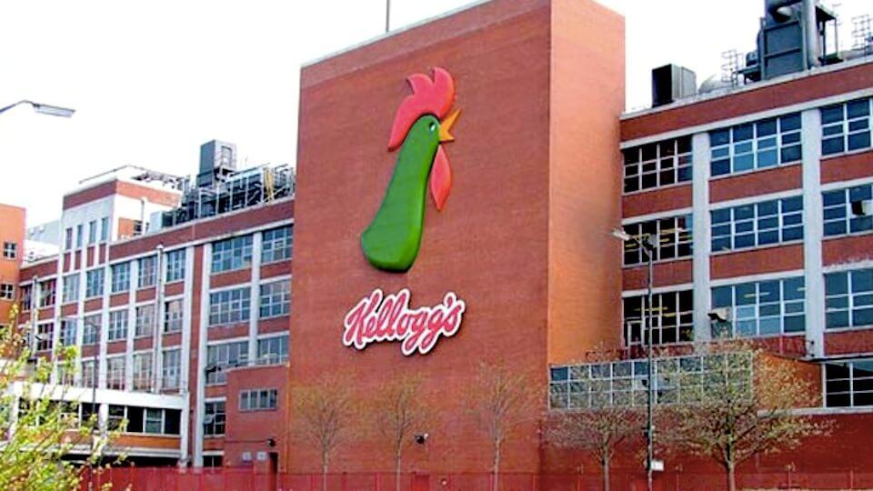 Photo Kellogg's building - business values