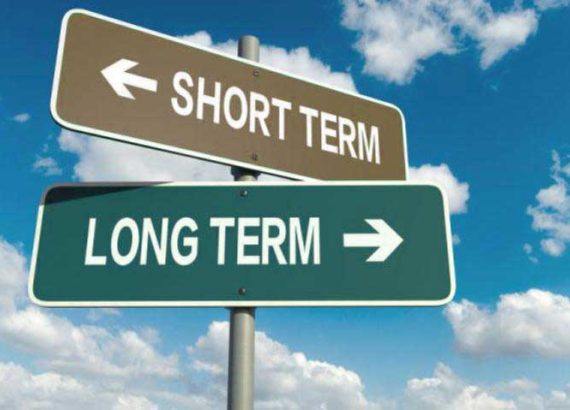 Short and long term goal