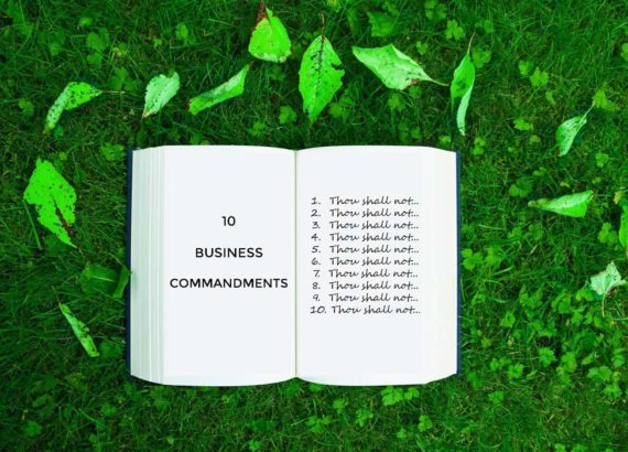 10 commandments of business