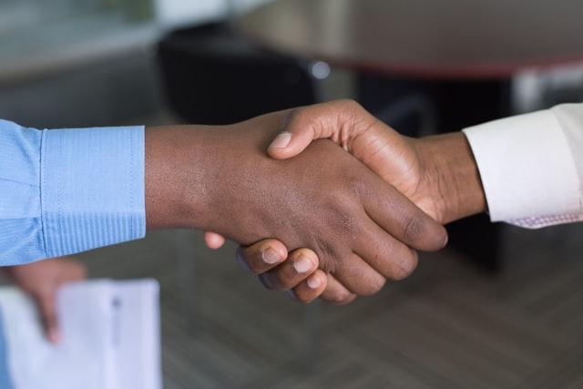 Handshake - ways to handle business in godly way